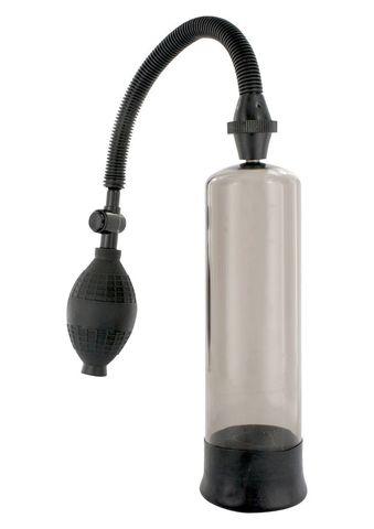 Вакуумная помпа для увеличения члена PVC TUBE WITH LATEX SLEEVE - Seven Creations 310RD-BLKSC