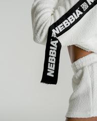 Укороченая толстовка NEBBIA Ribbon cropped hoodie 520 WHITE