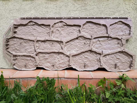 Фасадная панель Альта Профиль Бутовый камень Датский 1128х470 мм