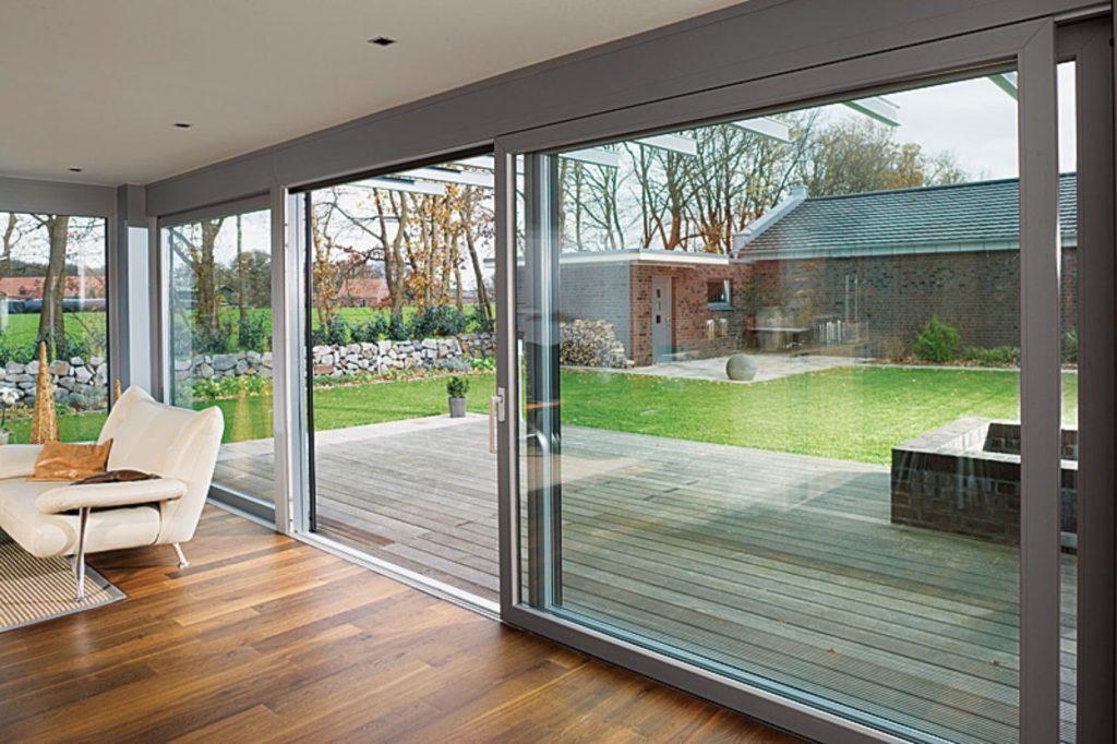 Террасные двери и панорамные окна  INNOVIEW