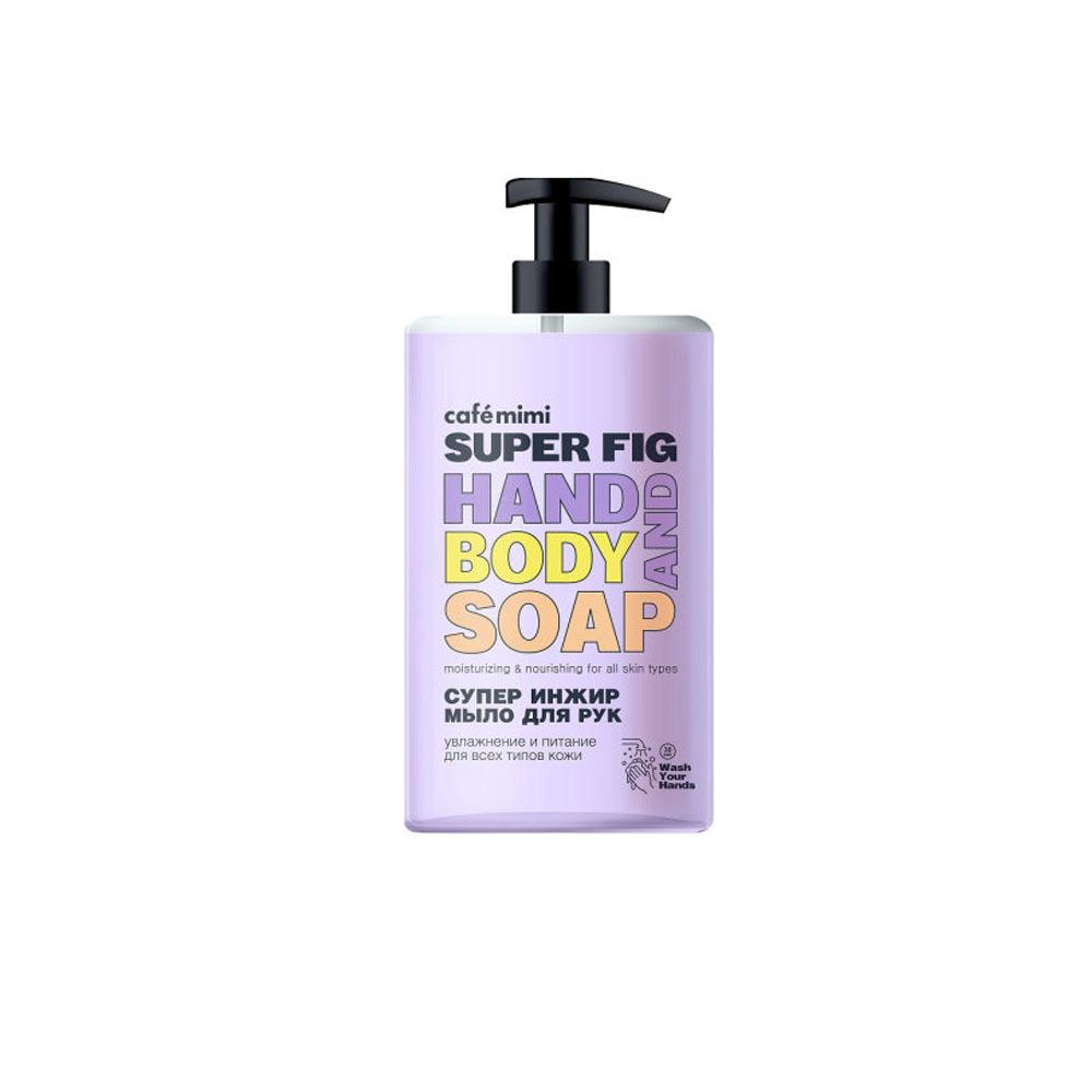 Мыло жидкое для рук Супер Инжир
