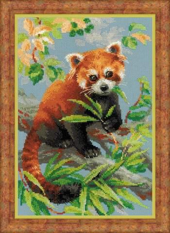 Набор для вышивания крестом «Красная панда» (1627)