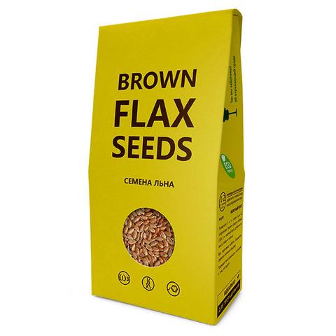 Семена льна, Компас Здоровья, коричневые, Brown flax seeds, 150 г