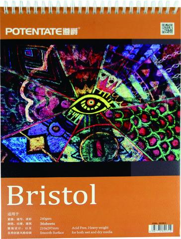 Альбом Potentate Bristol Pad, 36 листов, A3, бумага 240 г/м