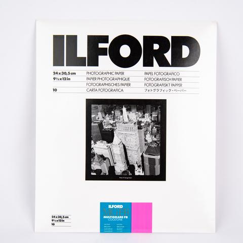 Фотобумага Ilford MG CoolTone баритовая, 24 x 30,5 см, глянцевая, 10 листов