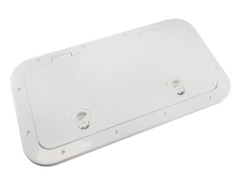 Крышка рундука 600х348 пластик, белая