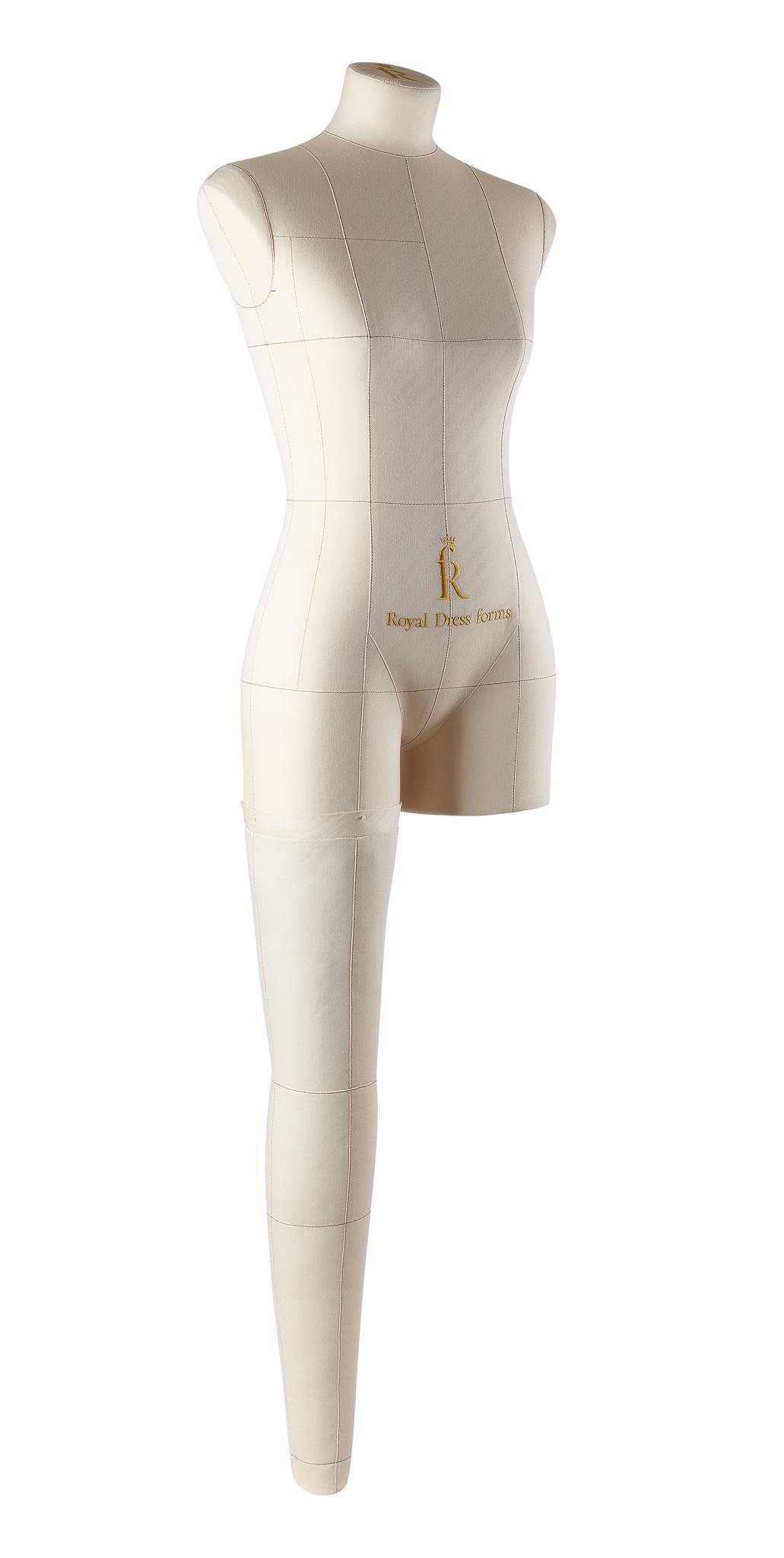 Нога бежевая для манекена Моника, размер 42Фото 2