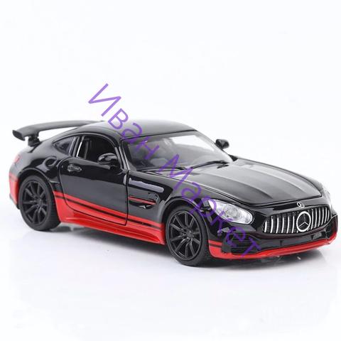 Металлическая Машина Mercedes Benz AMG черная