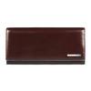 Портмоне Piquadro Blue Square, коричневое, 19х10х2,2 см