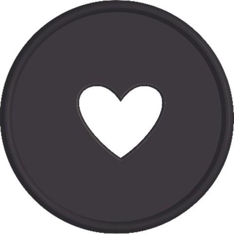 Диски- крепежный механизм для ежедневника Create 365 Planner Discs - Black -2.3см