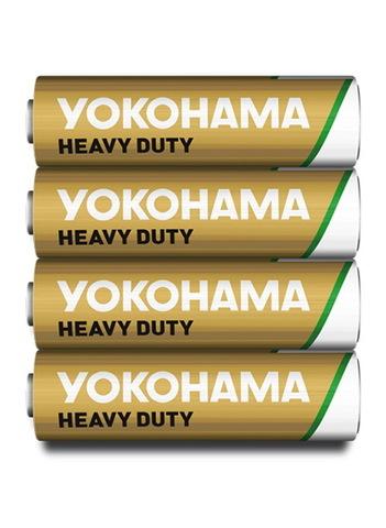 Батарейки Yokohama R6, AA (4/60/1200)