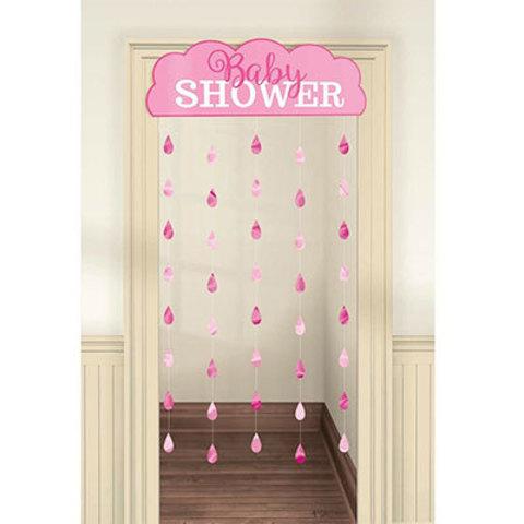 Украшение на дверь BABY SHOWER Девочка