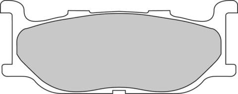 Тормозные колодки Newfren FD0183BT для Yamaha XVS 650/1300, TMAX 500