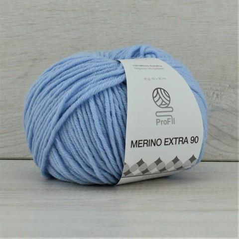 Пряжа Merino Extra 90 (Мерино экстра 90) Голубой