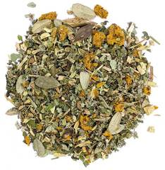 """Цветущий луг"" чай тизан на травах 100 гр"