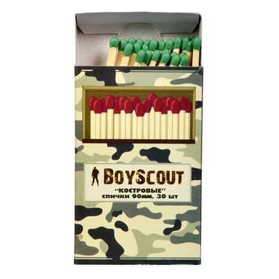 Спички Boyscout Костровые 90мм (30шт)
