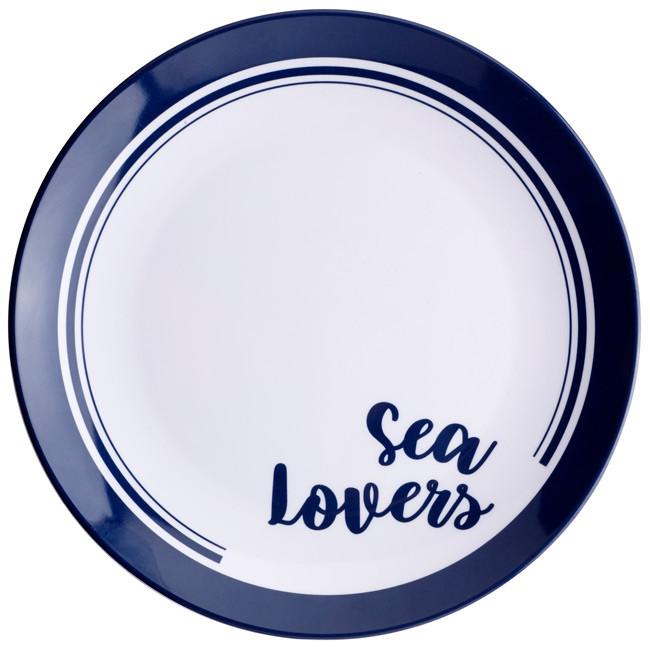 MELAMINE TABLEWARE 4 PEOPLE, SEA LOVERS