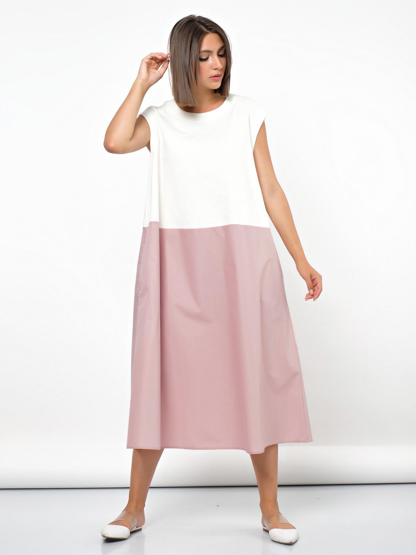 Платья Платье контрастное 667-6 plate-667-6-3-jpg-9.jpg