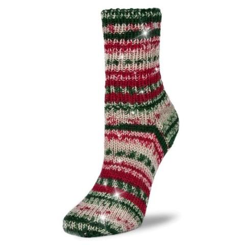 Рождественская носочная пряжа Rellana