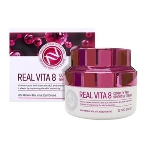 Крем с витаминами для сияния кожи  ENOUGH Real Vita 8 Complex Pro Bright Up Cream 50 мл.