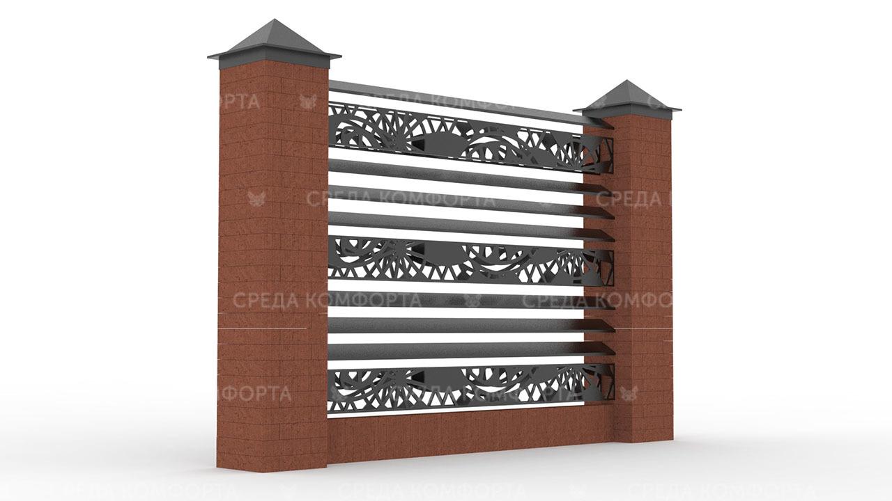 Забор жалюзи ZBR0126
