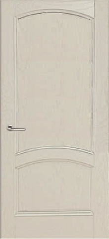 Дверь Луидор Криста Лайт, цвет ясень айсберг, глухая