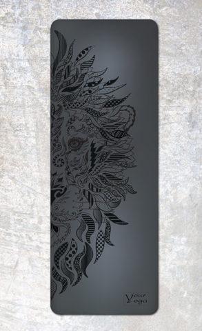 Каучуковый коврик для йоги Lion Colors YY 183*65*0,2-0,4 см