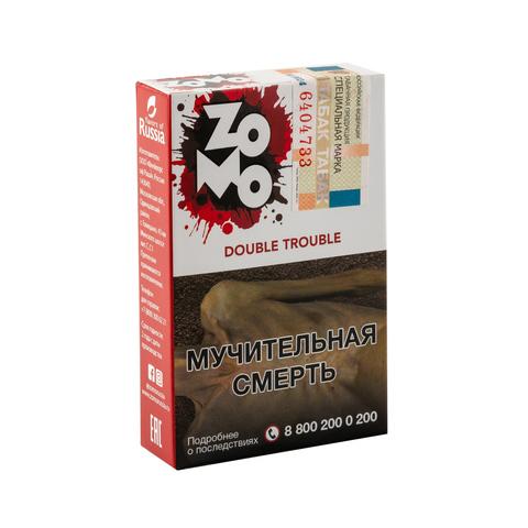 Табак ZOMO Double Trouble (Двойное Яблоко) 50 г