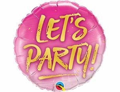 LET'S PARTY на розовом