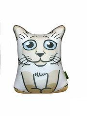 Подушка-игрушка антистресс Gekoko «Гордый Сиам» 2