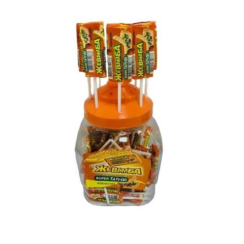 Жевательная конфета в банке
