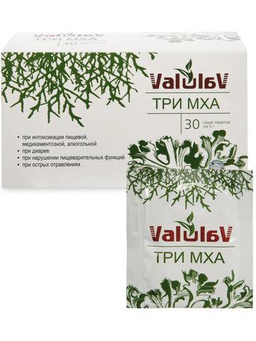Концентрат пищевой ValulaV Три мха, 30пакетов*5г (Сашера)