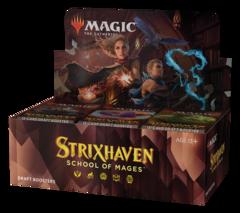 Дисплей бустеров «Strixhaven: School of Mages» (на английском)