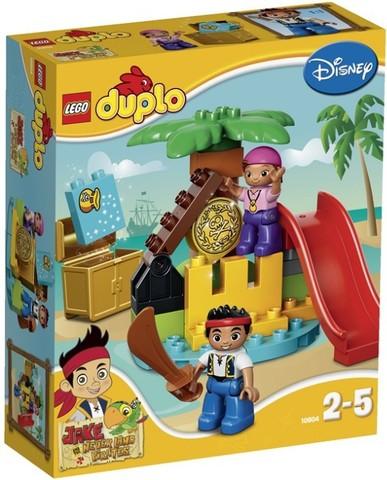 LEGO Duplo: Остров сокровищ 10604 — Jake and the Never Land Pirates — Лего Дупло