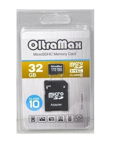 OltraMax microSDHC Class 10 32GB +