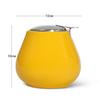 9400 FISSMAN Сахарница 600мл, цвет Желтый (керамика),