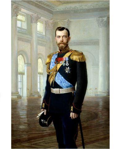 Икона портрет императора Николая Второго на дереве на левкасе мастерская Иконный Дом