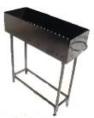 Мангал металлический 300*150*800
