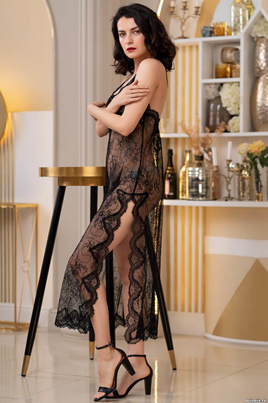 Длинная сорочка Susanna полуприлегающего силуэта