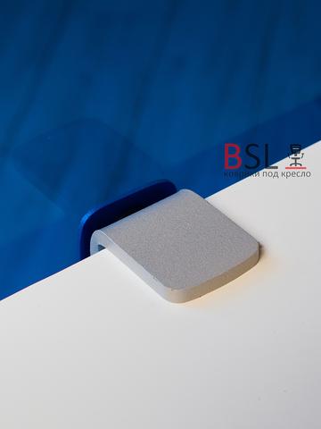 Экран на струбцинах (05 серые) синий прозрачный Ш. 1000мм