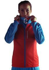 Женский разминочный жилет Nordski Premium Red-Blue