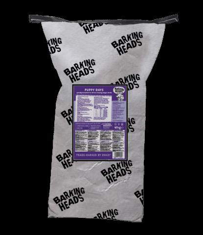 купить Баркинг Хедс сухой беззерновой корм Barking Heads для щенков с лососем и курицей  Щенячьи деньки