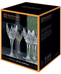 Набор из 4 хрустальных фужеров для вина Imperial, 240 мл, фото 2
