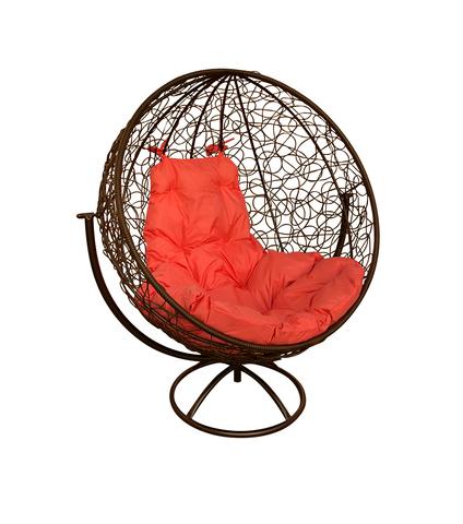 Кресло вращающееся Milagro brown/orange