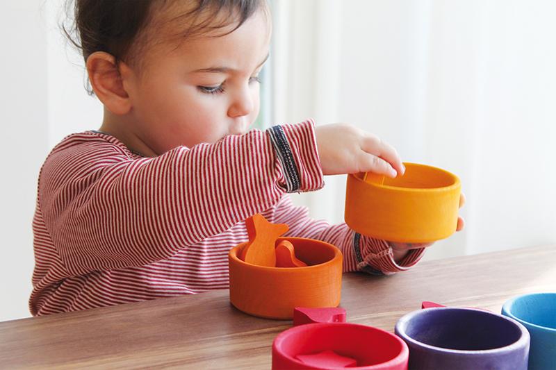 Набор для сортировки Радужные стаканчики
