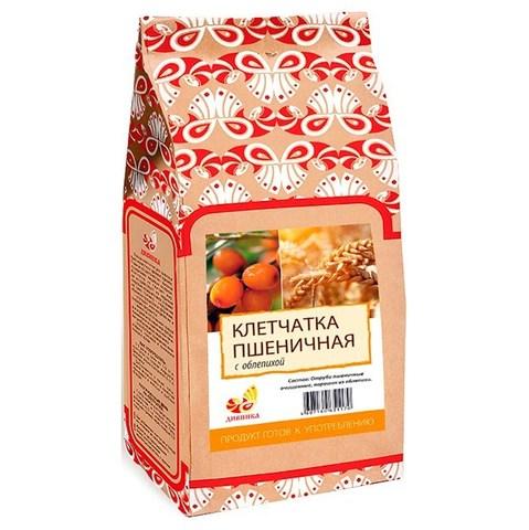 Клетчатка пшеничная, Дивинка, Облепиха, пакет, 300 г