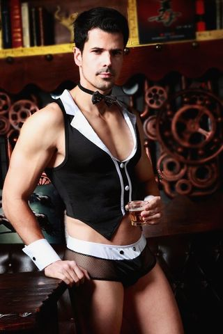 Эротический костюм официанта Archer