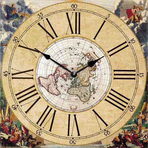 деревянные часы из МДФ mdclr081 d420