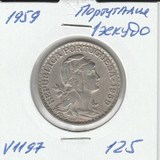 V1197 1959 Португалия 1 эскудо