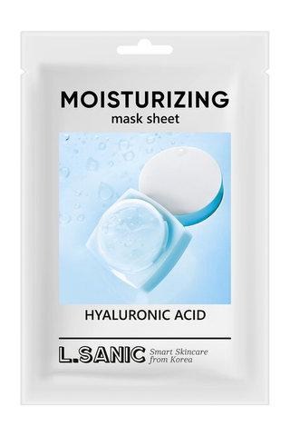 L'Sanic Маска тканевая с гиалуроновой кислотой - Hyaluronic acid moisturizing mask sheet, 25 мл